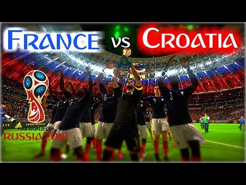FIFA 18  - France v Croatia || 2018 Worldcup FINAL!