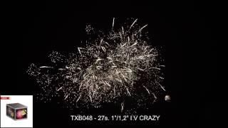 Fajerwerki TXB048  CRAZY 27s. 1