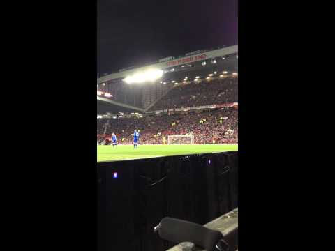 """You are my Solskjaer"" Manchester United vs Cardiff City 2014-1-28"