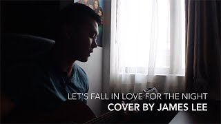 Let's Fall In Love For The Night - FINNEAS (Acoustic Cover) Video