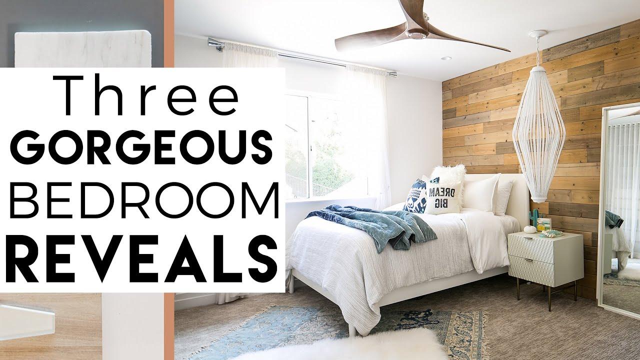 3 Cool Bedrooms | Interior Design | Del Mar Reveal #6 ...
