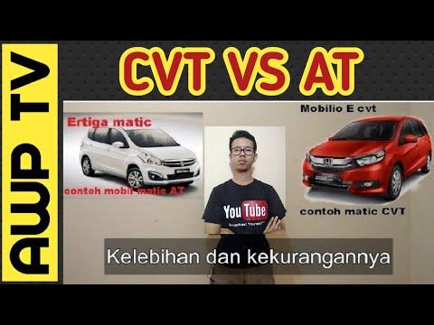 Perbedaan Matic AT dan CVT
