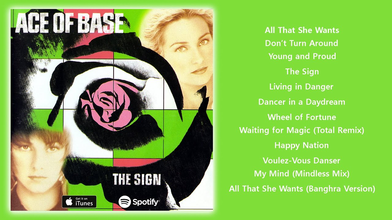 Download Ace of Base - The Sign (1993) [Full Album]