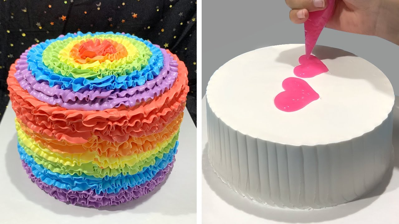 Wonderful Cake Decorating Ideas for Everyone   Top 5 Various Cake Decorating Recipes By So Easy