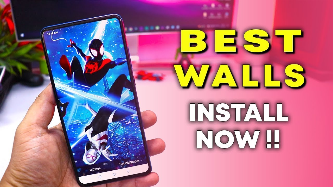 Top 5 Best Wallpaper Apps For Your Android Phone 3d 4k Live Wallpapers
