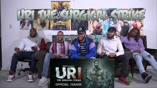 URI - The Surgical Strike | Vicky Kaushal | Yami Gautam | Trailer Reaction/Review Americans