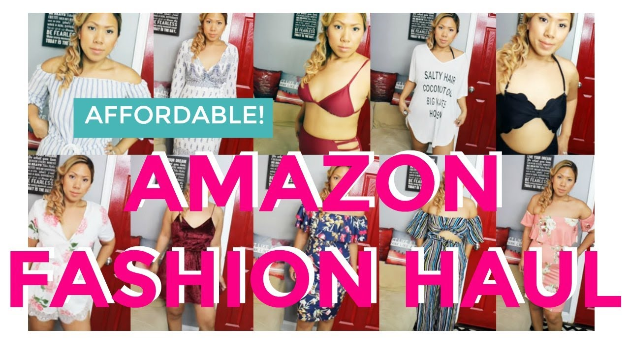 d577b608217 Curvy Thick Girl Affordable Amazon Fashion Haul and Try-On - YouTube