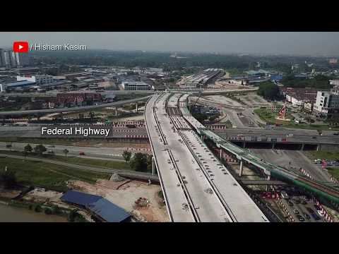 WCE -  Bukit Raja, Klang | West Coast Expressway | Drone Footage 7.7.2018