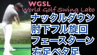 ゴルフ天才ジュニアの7番アイアンショット!これがお手本!【Shotaro】WGSLレッスンドライバーアイアンアプローチパター