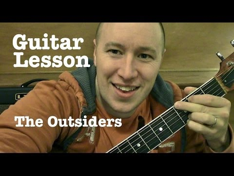 The Outsiders - Guitar Lesson / Tutorial (TABS)   Eric Church