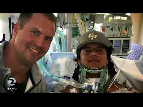 San Ramon Valley HS football player paralyzed