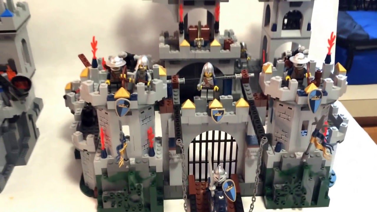 ENLIGHTEN Knights  1023 Castle REVIEW 2 of 2   YouTube
