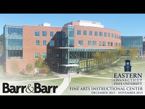 Eastern Connecticut State University Construction Time-Lapse