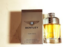 Bentley For Men Fragrance Review (2013)
