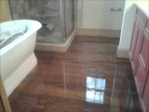Southern Yellow Pine After Pt 3 Hardwood Floor Refinishing