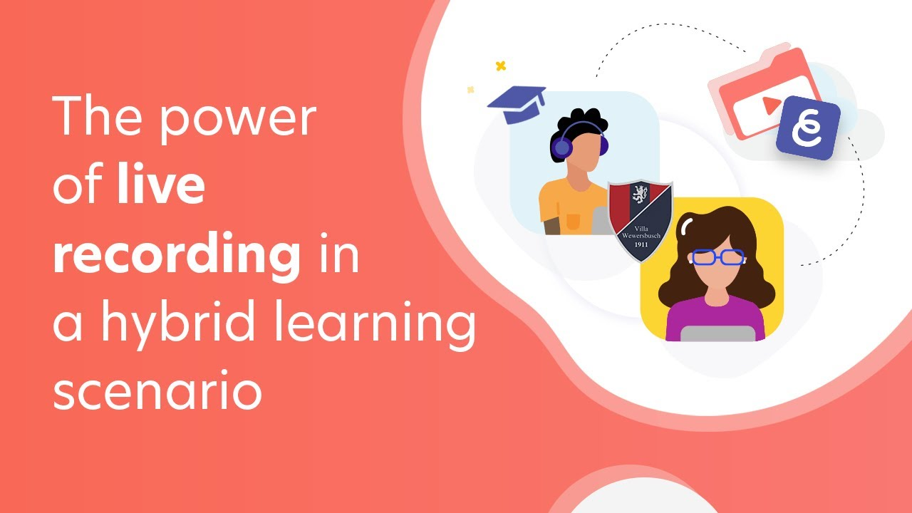 #WEBINAR The power of live recording in a #hybridlearning scenario