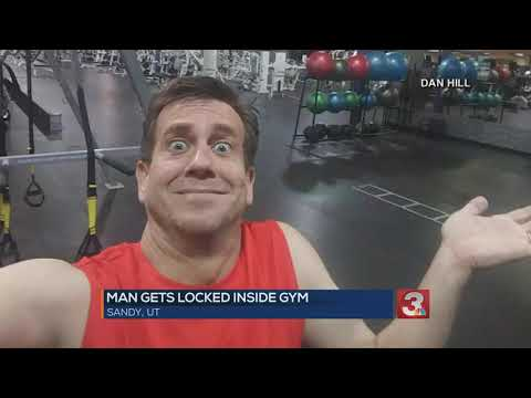 Bob Delmont - Man gets locked in a 24 hour GYM for the night!!!