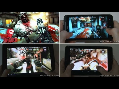 Dead Trigger Android Review - Google Nexus 7,  HTC EVO 4G LTE, Transformer Prime
