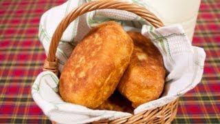 Жареные пирожки с капустой - Наталья Ким(На странице http://za100le.ru/snacks/patty-with-cabbage.html Вас ждут подробные фото этого рецепта., 2013-05-27T17:18:35.000Z)