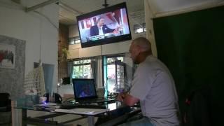 Editando y Mirando TV, tarde lluviosa en Montevideo(, 2017-01-31T18:16:15.000Z)
