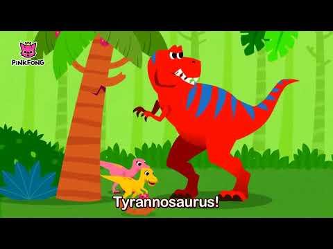 The Best Hunter, Tyrannosaurus   Dinosaur Songs   Pinkfong Songs for Children
