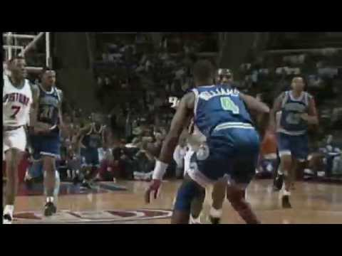 Grant Hill and Eddie Jones Highlight the Top 10 Plays of the Week- February 13, 1995