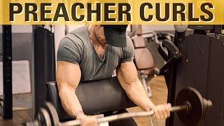 Preacher Curls - So wird der Bizeps dicker!