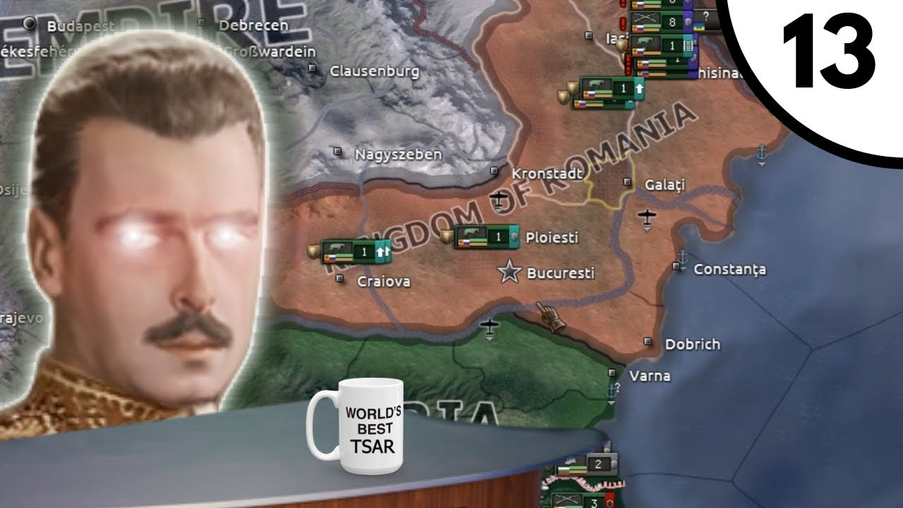 I Want A Puppet Kingdom On My Desk [Hoi4 Kaiserreich 0 8: Tsarist Russia]  Ep  13