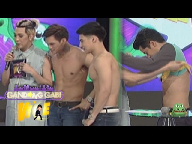 GGV: Topless Albie, Alex at Zeus