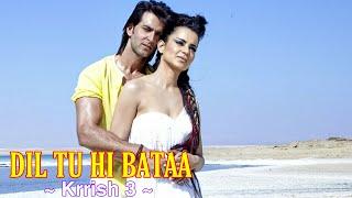 Dil Tu Hi Bataa Full Song : Krrish 3   Alisha Chinai   Zubeen Garg   Hrithik Roshan, Kangana Ranaut