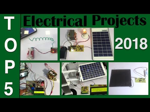 Top 5 Major Electrical Project For Diploma 2018