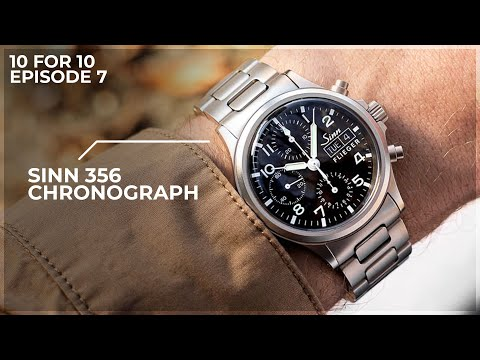A Sub 40mm Chronograph Built To Last - The Sinn 356 Pilot Chronograph: 10 for 10 Review
