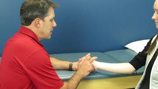 Tinel's Sign at the Wrist for Carpal Tunnel Syndrome with Paul Marquis PT