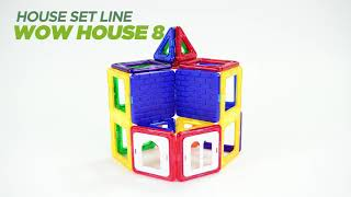 Magformers Wow House Set - How To Build (Video 3 of 5)