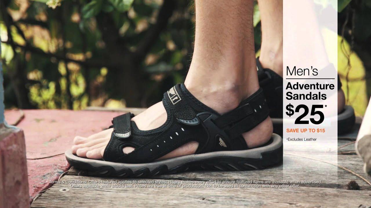 0d5131cea0d TV - Selected Men's Adventure Sandals Just $25 - YouTube