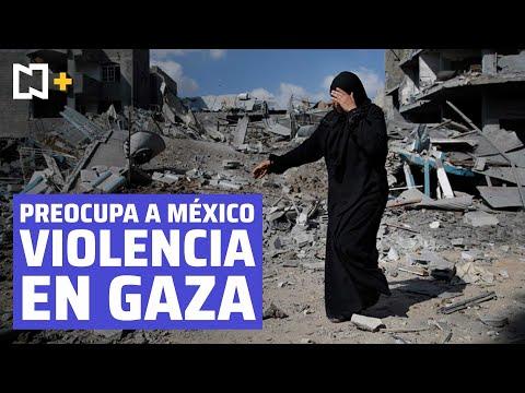 """México expresa su """"consternación"""" por hechos violentos en Jerusalén y Gaza"""