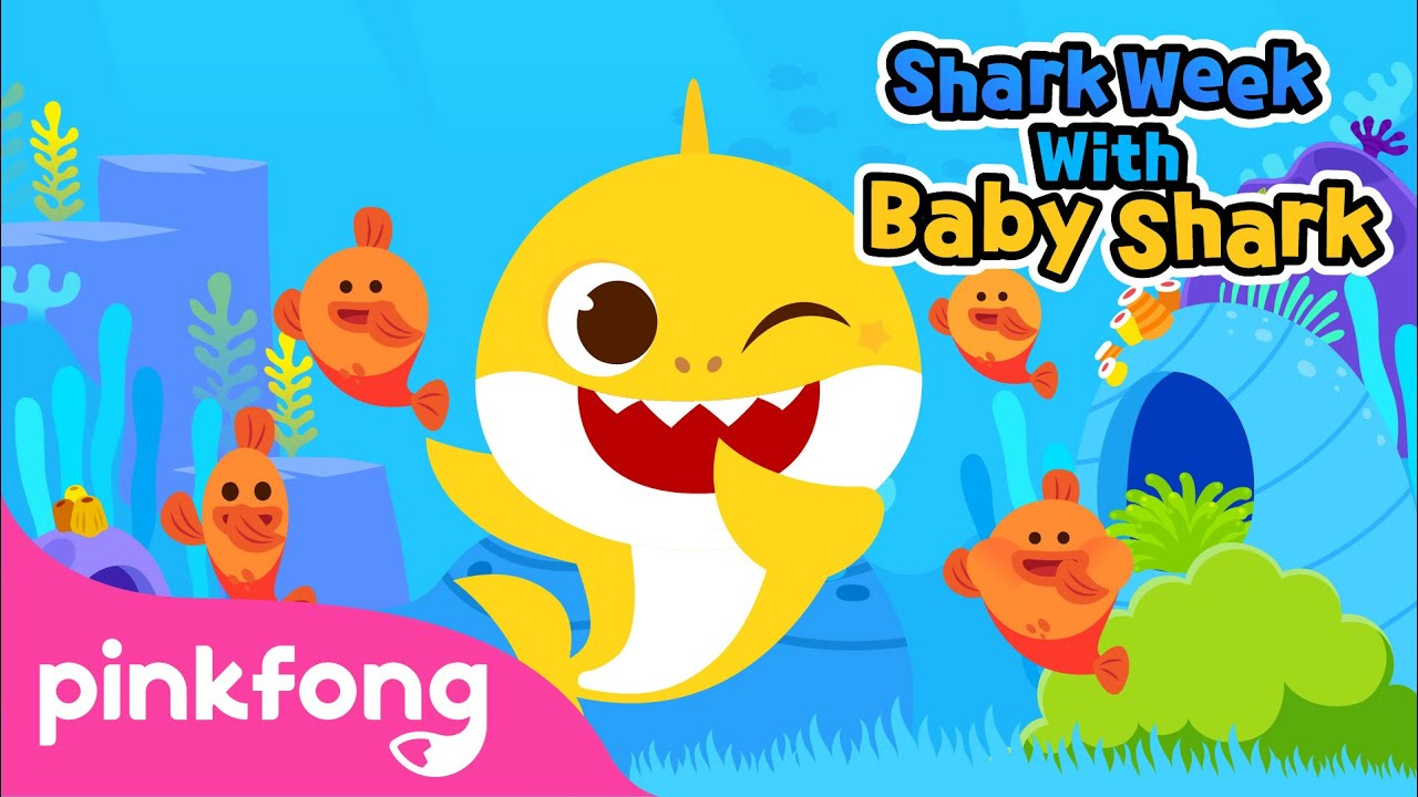 Dance and Move like Sea Animals | Shark Week with Baby Shark | Pinkfong Songs for Children