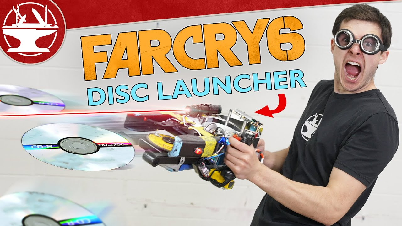 RAPID-FIRE CD LAUNCHER from FAR CRY 6