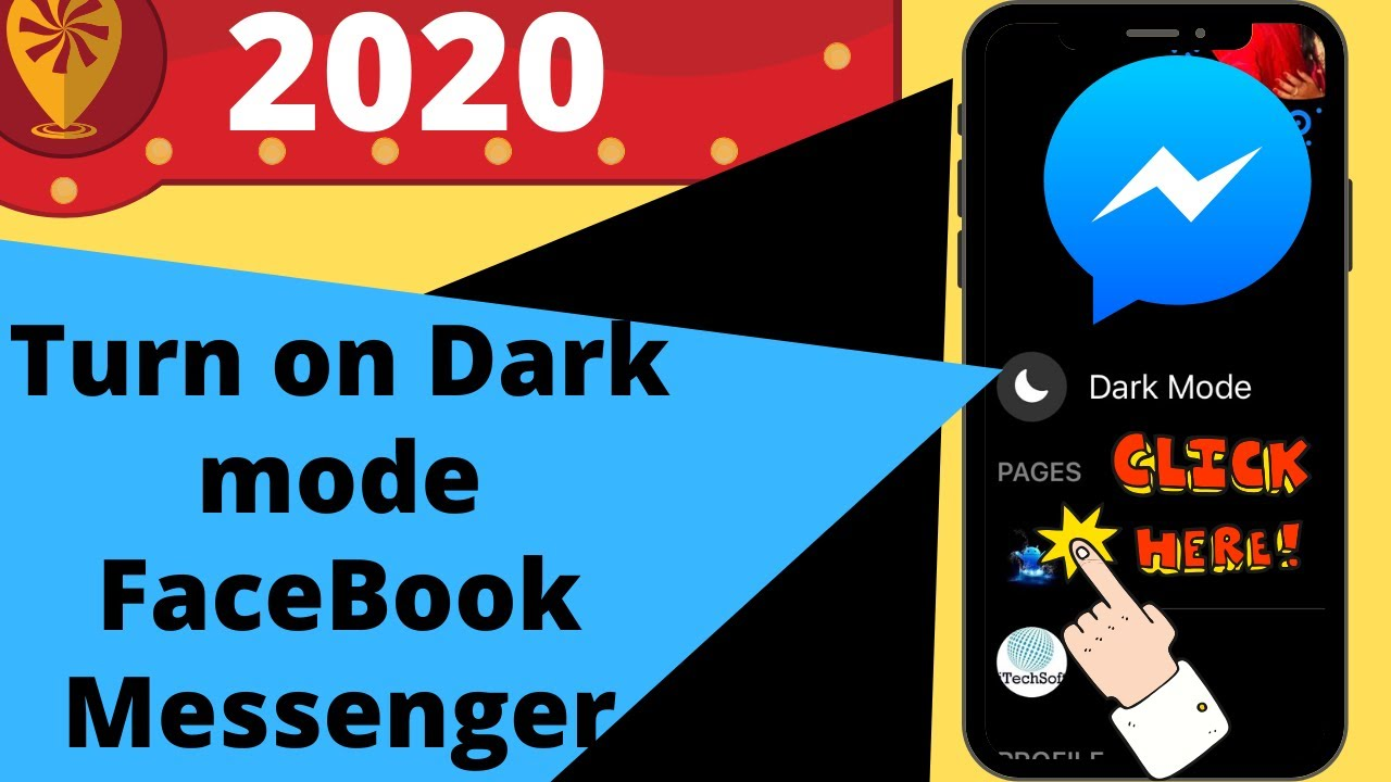how to dark mode messenger on iphone 4s