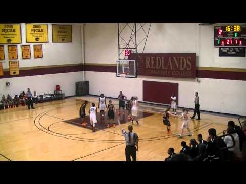 PART 1 Girls Redlands Community College Vs. Connors State 2014-2015