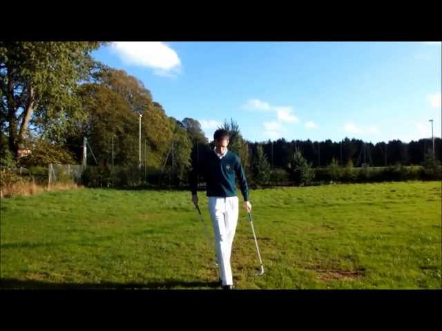 Epic Freestyle Golf Trick Shots Compilation ¦ Harry Flower