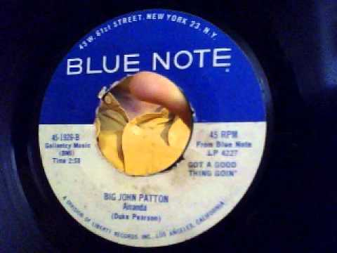 amanda - big john patton - blue note 1966