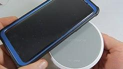 Jedes Smartphone KABELLOS laden - RAVPower Qi Wireless Ladegerät Induktive Ladestation S10 - Review
