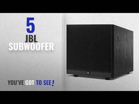 """Top 5 JBL Subwoofer [2018]: JBL Arena S10 Black 10"""" 100W Powered Subwoofer with Special Edition"""