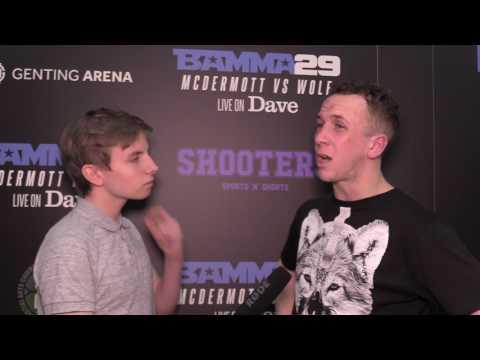 Greg Jenkins BAMMA 29 Post-fight Interview