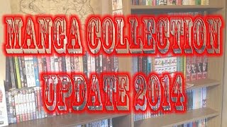 750+ Volumes Manga Collection Update 2014!