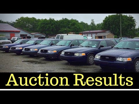 Crown Victoria Police Interceptor P71 State Auction Prices