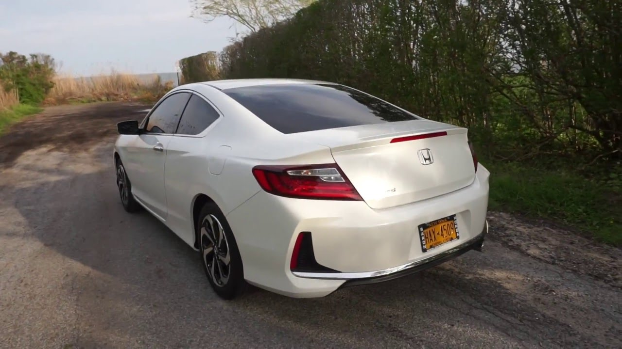 2016 honda accord coupe lx s review part 1 exterior youtube. Black Bedroom Furniture Sets. Home Design Ideas