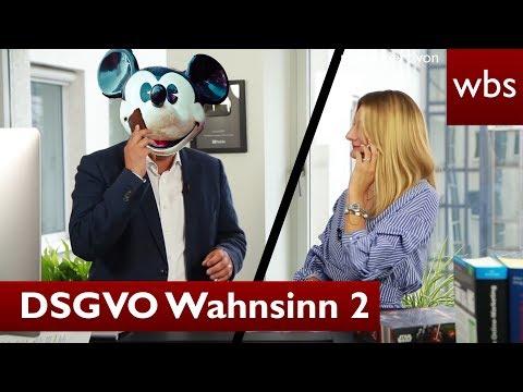 DSGVO Wahnsinn # 2: Telefonieren trotz DSGVO - WBS macht es möglich! | RA Christian