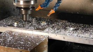 CNC Machine Tool Endmill Crash Oops (wait for it)